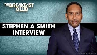 Stephen A. Smith Talks New ESPN Show, Capitol Hill Protests, WNBA  + More