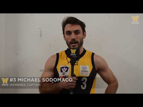 Michael Sodomaco: Essendon vs Werribee SF post-game