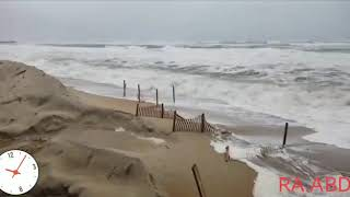 Hurricane Florence closes in on the USA coast +18  14/09/2018