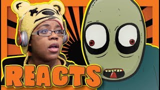 Salad Fingers 9 Letter by David Firth | Animation Reaction