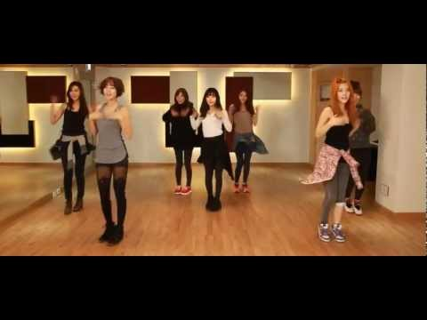 Rainbow - Tell Me Tell Me mirrored Dance Practice #2