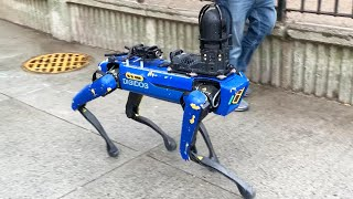 Critics Call This Crime-Fighting Robot Dog Creepy