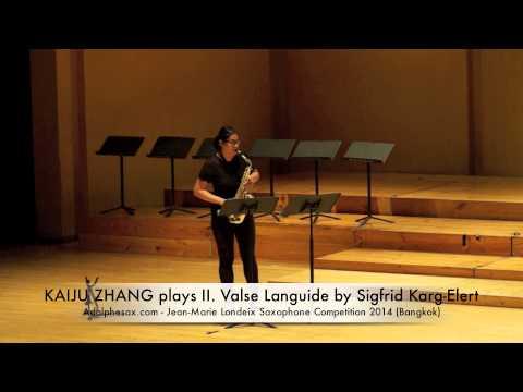 KAIJU ZHANG plays II Valse Languide by Sigfrid Karg Elert