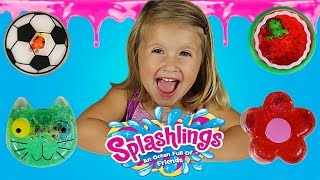 Learning colors for toddlers! Learn colors with slime for kids! Surprise toys in slime!
