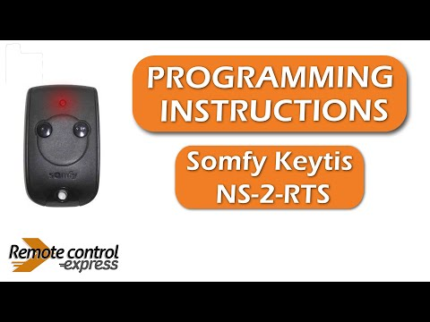 RTS Handsender 1841026 Somfy Keytis 2 NS