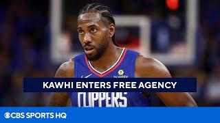 Kawhi Leonard Declines Player Option, Becomes Free Agent [NBA Free Agency] | CBS Sports HQ