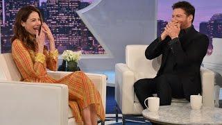 Harry and Michelle Monaghan Eat Vegemite