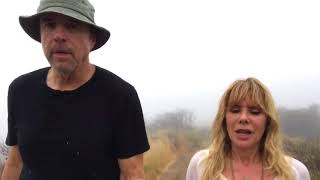 Hiking with Kevin - Rosanna Arquette - Pt 2