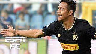 Alexis Sanchez scores and gets sent off in Inter Milan win vs. Sampdoria | Serie A Highlights