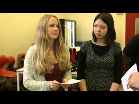 Havo-4 leerlingen spelen Humanopoly