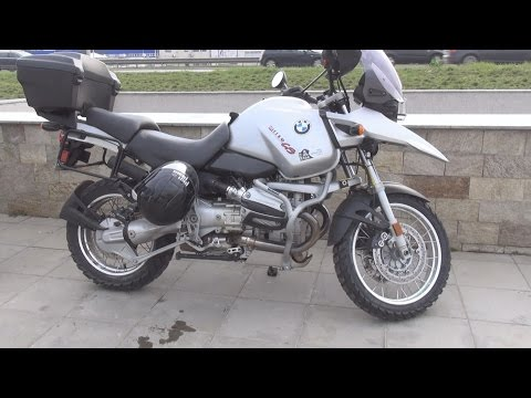 BMW R1150GS Exterior and Interior in 3D