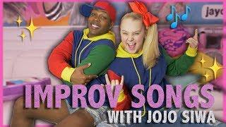 Improv Song Challenge w/ JOJO SIWA 🎶