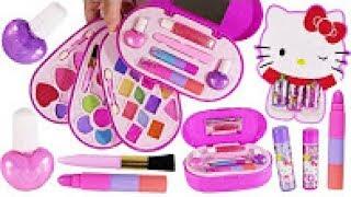 BubblePOP Beauty SPOT! Hello Kitty Lip Jelly! 4 Layer Makeup Kit! Eyeshadow! Lipstick! Nail Polish!