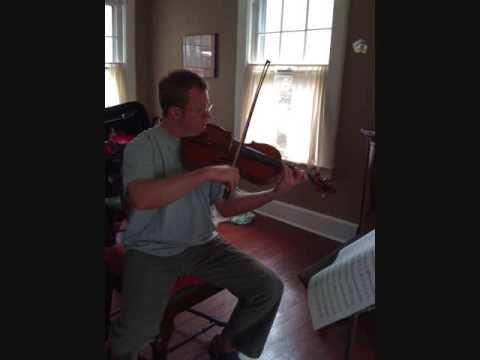 Revol Bunin Viola Sonata 1mvt  Brett Deubner - viola, Luba Slepoi - piano