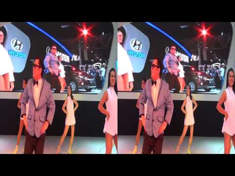 Psy Gangnam Style 3D - Salão do Automóvel 2012