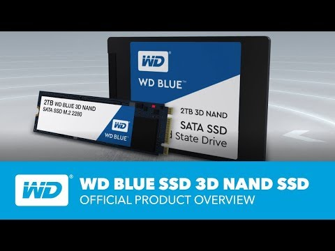 video WD 2T Blue 3D NAND SATA SSD