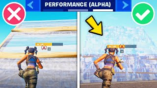 *NEW* Fortnite Performance Mode Update EXPLAINED! (BUBBLE WRAP BUILDS ARE BACK!)