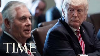 President Trump Fires Secretary Of State Rex Tillerson Ahead Of North Korea Negotiations | TIME