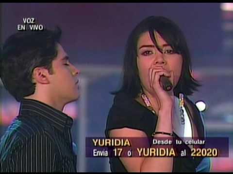 Yuridia y Adrian - Cosas De La Vida (La Academia 4)