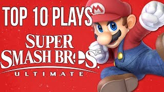 Top 10 Super Smash Bros Ultimate Plays @ E3/Rage 2018 - SSBU