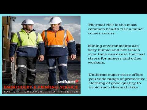 Right Mining Uniforms Provide Protection