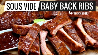 Sous Vide Baby Back Ribs The Best Ever Period, Perfection Achieved!