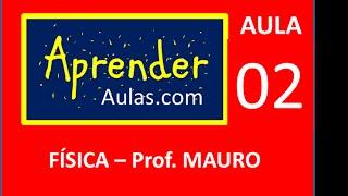 F�SICA - AULA 2 - PARTE 1 - MEC�NICA:MOVIMENTO UNIFORME E UNIFORMEMENTE VARIADO