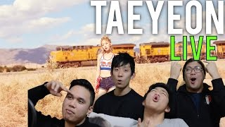 TAEYEON | WHY LIVE STAGE Reaction [4LadsReact]