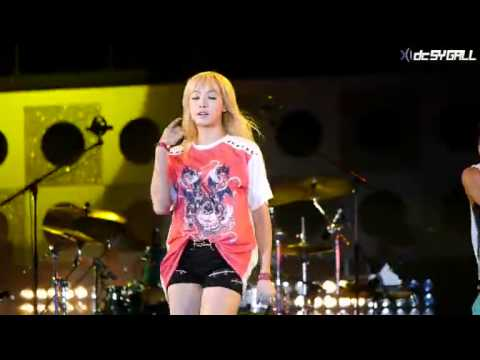 [Fancam] 120717 F(x) - La Cha Ta (Victoria Focus) @ Yeosu World Expo
