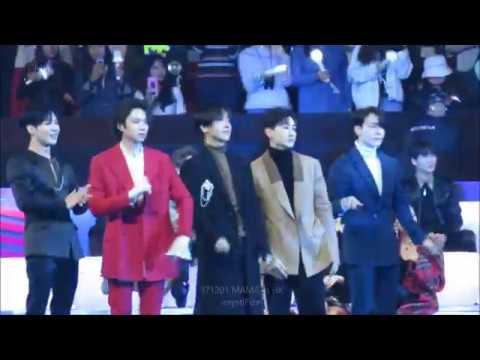 171201 MAMA in HK - Fanboys SUJU & Taemin React to EXO's Power