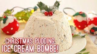 Christmas Pudding Ice Cream Bombe | Gemma's Bigger Bolder Baking