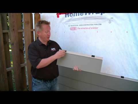 APEX Siding System - Innovative Water Management