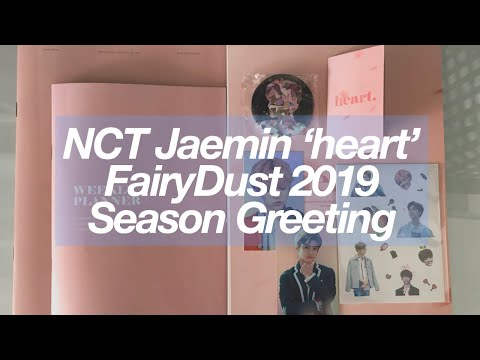 [ UNBOXING ] NCT Jaemin 나재민 FairyDust 'heart' 2019 Season Greetings