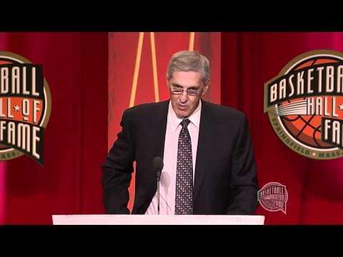 Jerry Sloan's Basketball Hall of Fame Enshrinement Speech