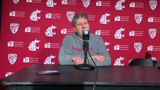 Mike Leach fires back at reporter after Apple Cup loss