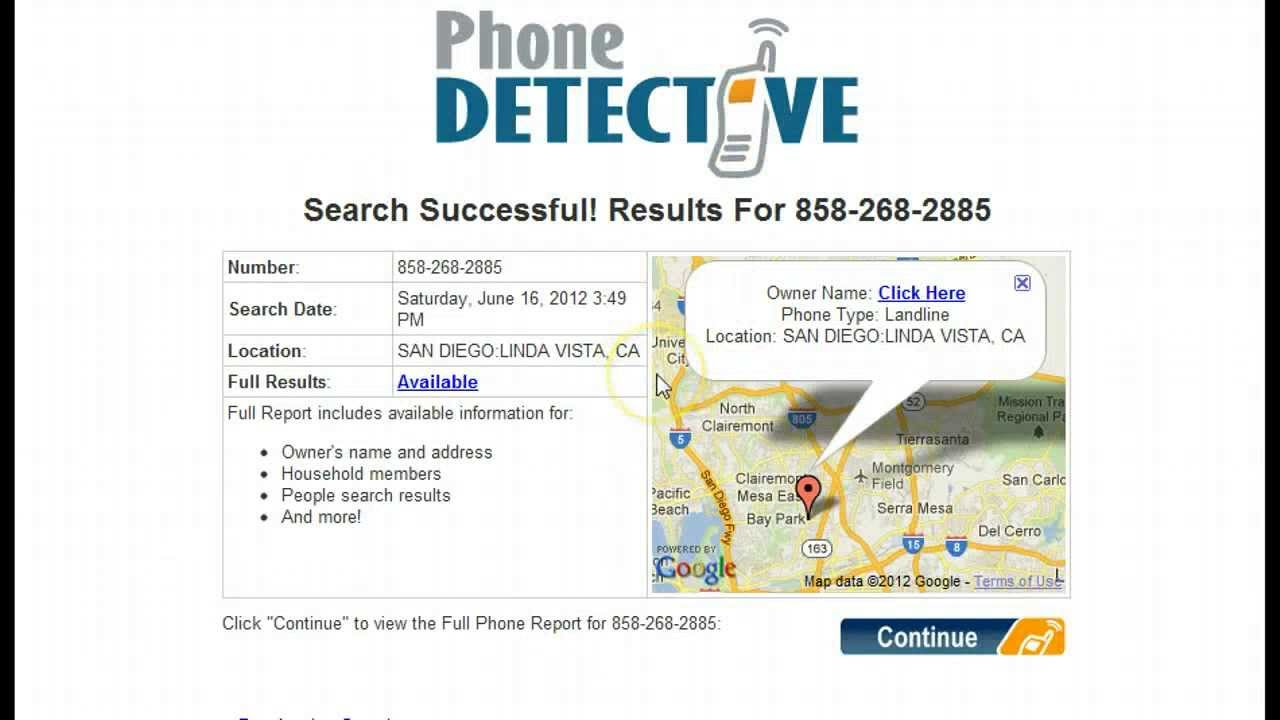 Phone Detective - The Best Reverse Phone Number Lookup ...
