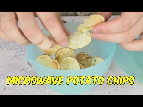 Како брзо и лесно да си направите домашен чипс во микробрановата печка?