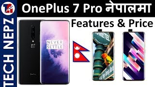 OnePlus 7 Pro Price in Nepal , OnePlus 7 Pro Specifications
