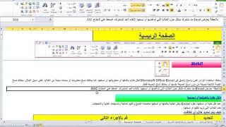 4-المحاضرة الرابعة دورة استخدام الاكسيل فى تحليل البيانات مع عبدالجيد محمد-ج1-تحديد النطاقات