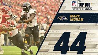 #44: Mark Ingram (RB, Ravens)   Top 100 NFL  Players of 2020