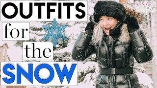 Outfits for the Snow | What to Wear When It's Really Cold!
