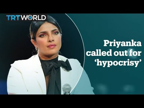 Priyanka Chopra called out as 'hypocrite'