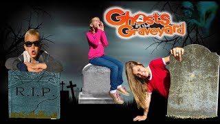 Ghost in the Graveyard Game! | 24 Hours in a Graveyard Hide and Seek!