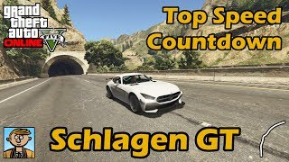 Fastest Sports Cars (Schlagen GT) - GTA 5 Best Fully Upgraded Cars Top Speed Countdown