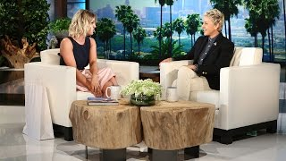 Kaley Cuoco Explains Her New Ink