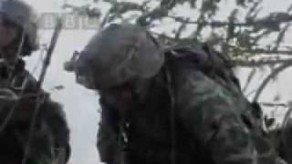 US Soldiers Cry After Attack 2009