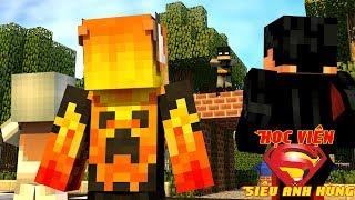 Chào Mừng Đến Với Học Viện   Minecraft Roleplay: Học Viện Siêu Anh Hùng #1