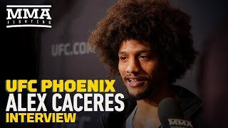 UFC Phoenix: Alex Caceres Gets Philosophical About MMA, Says He's Reverting to Where He Was As Child