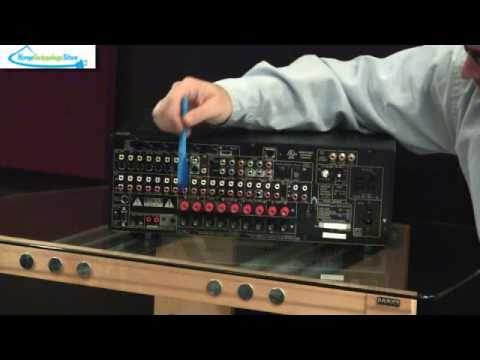 Denon Avr 4310ci Home Theater Receiver Basics Youtube