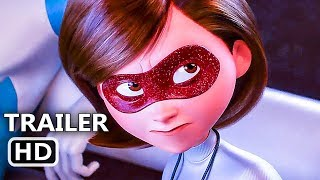 INCREDIBLES 2 Official Trailer # 3 (NEW 2018) Disney Animated Movie
